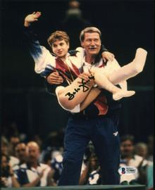 Bela Karolyi USA Gymnastics Coach Authentic Signed 8x10 Photo BAS #S24882