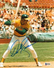 Athletics Dave Kingman Authentic Signed 8x10 Photo Autographed BAS #H92600