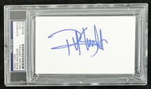Ryan Sheckler Skatboarding Authentic Signed 3X5 Index Card PSA/DNA Slabbed