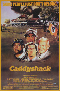 Chevy Chase Caddyshack Authentic Signed 22x35 Poster BAS Witnessed #I49997
