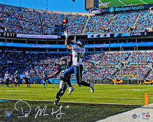Seahawks DK Metcalf Authentic Signed 16x20 Vs. Panthers Photo BAS Witnessed