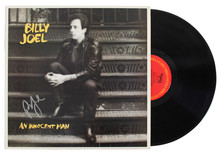 Billy Joel Authentic Signed An Innocent Man Album Cover W/ Vinyl BAS #S21240