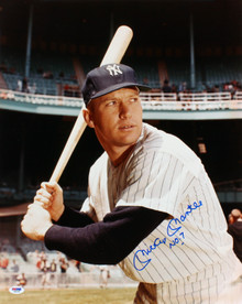 """Yankees Mickey Mantle """"No. 7"""" Authentic Signed 16x20 Photo PSA/DNA #S04083"""