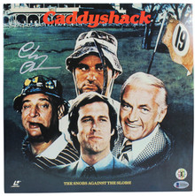 Chevy Chase Authentic Signed Caddyshack Laser Disc Cover w/Disc BAS Wit #M54601