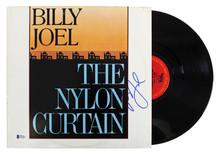 Billy Joel Authentic Signed The Nylon Curtain Album Cover W/ Vinyl BAS #D17682