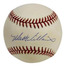 Giants Matt Williams Authentic Signed Coleman Onl Baseball BAS #H91083
