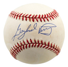 Giants Gaylord Perry Authentic Signed Coleman Onl Baseball BAS #H83225