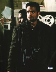 Mario Van Peebles New Jack City Authentic Signed 11x14 Photo PSA/DNA #Y84014