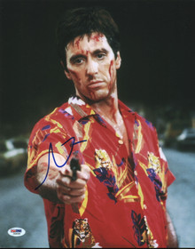 Al Pacino Scarface Authentic Signed 11x14 Photo Autographed PSA/DNA #I86099