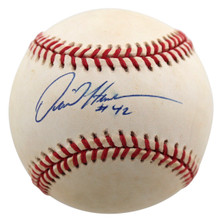 Athletics Dave Henderson Authentic Signed Coleman Onl Baseball BAS #BB22137
