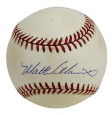 Giants Matt Williams Authentic Signed Coleman Onl Baseball BAS #H91271