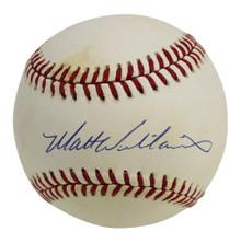 Giants Matt Williams Authentic Signed Coleman Onl Baseball BAS #H91003