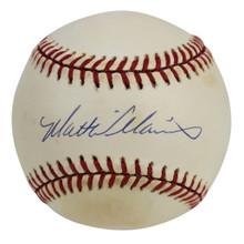 Giants Matt Williams Authentic Signed Coleman Onl Baseball BAS #H91160