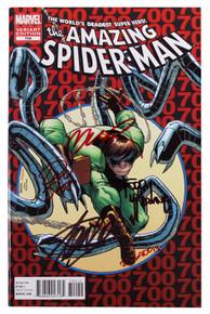 (5) Stan Lee, McFarlane +3 Signed The Amazing Spider-Man #700 Variant Comic JSA
