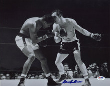 Gene Fullmer Boxing Signed Authentic 11X14 Photo Autographed PSA/DNA #U52880