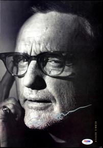 Dennis Hopper Authentic Signed 9.5X13.5 Magazine Page Photo PSA/DNA #J00023