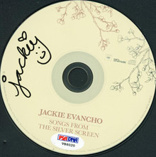 Jackie Evancho Authentic Signed Songs From The Silver Screen Cd PSA/DNA #V86020