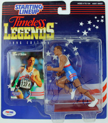 Dan O'Brien Olympics Authentic Signed 1996 Starting Lineup PSA/DNA #S85392