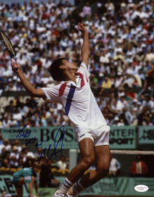 Michael Chang Tennis Signed Authentic 11X14 Photo Autographed JSA #G16113