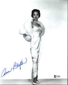 Ann Blyth Sexy Authentic Signed 8X10 Photo Autographed BAS #B71882