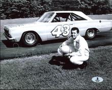 Richard Petty NASCAR Authentic Signed 8X10 Photo Autographed BAS #B04408
