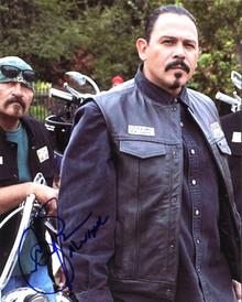 "Emilio Rivera Sons Of Anarchy ""Alvarez"" Authentic Signed 8X10 Photo BAS #B13157"