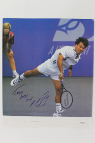 Michael Chang Tennis Signed Authentic 10X12 Magazine Photo JSA #G16191