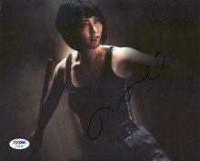 Rinko Kikuchi Pacific Rim Signed Authentic 8X10 Photo PSA/DNA #Y78066