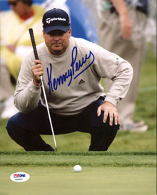 Kenny Perry PGA Golf Authentic Signed 8X10 Photo Autographed PSA/DNA #AB40587