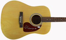 "Austin Webb ""Raise Em Up"" Signed Acoustic Guitar Autographed PSA/DNA #AA86780"