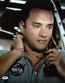 Tom Hanks Apollo 13 Signed Authentic 11X14 Photo Autographed PSA/DNA #X44357