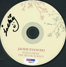 Jackie Evancho Authentic Signed Songs From The Silver Screen Cd PSA/DNA #V86017