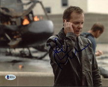 Kiefer Sutherland 24 Authentic Signed 8X10 Photo Autographed BAS #B93939