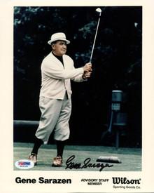 Gene Sarazen Golf Signed Authentic 8X10 Photo Autographed PSA/DNA #G15190