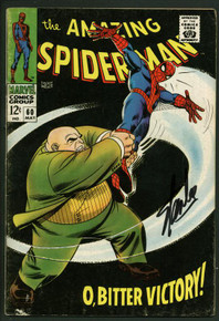 Stan Lee Signed Amazing Spider-Man #60 Comic Book Kingpin PSA/DNA #W18787