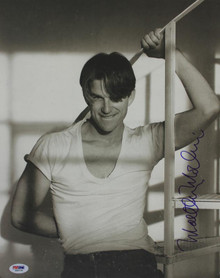 Matthew Modine Authentic Signed 12X15 Herb Ritts Photo PSA/DNA #J00774