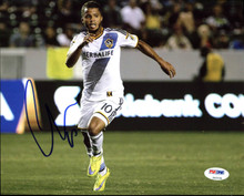 Giovani Dos Santos Galaxy Soccer Authentic Signed 8X10 Photo PSA/DNA #Z92336