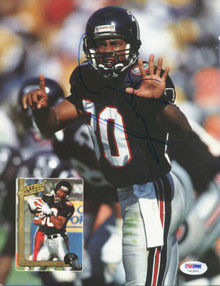 Falcons Andre Rison Authentic Signed Beckett Magazine Back Cover PSA/DNA #U42940