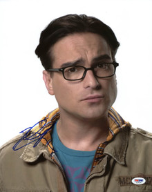 Johnny Galecki Big Bang Theory Signed Authentic 11X14 Photo PSA/DNA #T18140