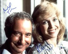 Michael Tucker & Jill Eikenberry LA Law Authentic Signed 8X10 Photo BAS #B95078