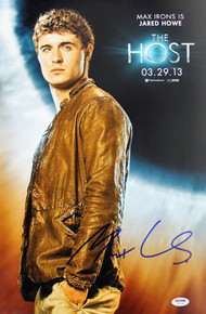 Max Irons The Host Authentic Signed 12x18 Photo Autographed PSA/DNA #Z57265
