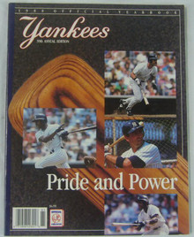 New York Yankees Authentic Official 1988 Program Yearbook