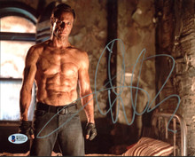 Aaron Eckhart I, Frankenstein Authentic Signed 8X10 Photo BAS #B71577