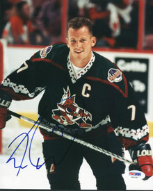 Coyotes Keith Tkachuk Signed Authentic 8X10 Photo Autographed PSA/DNA #U66587