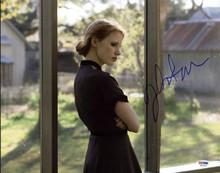 Jessica Chastain Zero Dark Thirty Signed Authentic 11X14 Photo PSA/DNA #W24344