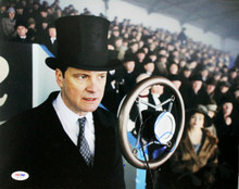 Colin Firth The Kings Speech Signed Authentic 11X14 Photo PSA/DNA #M97460