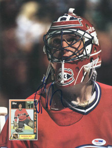 Canadiens Patrick Roy Authentic Signed Magazine 1990 Beckett PSA/DNA #U42953