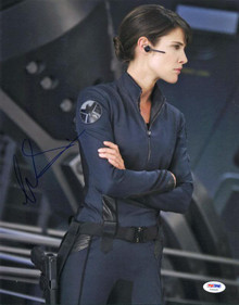 Cobie Smulders The Avengers Signed Authentic 11X14 Photo PSA/DNA #V20430