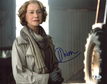Helen Mirren Red Authentic Signed 11X14 Photo Autographed BAS #C63548
