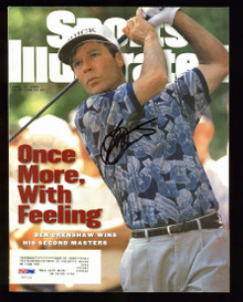 Ben Crenshaw Sports Illustrated 1995 Signed Magazine Autographed PSA/DNA #U87255